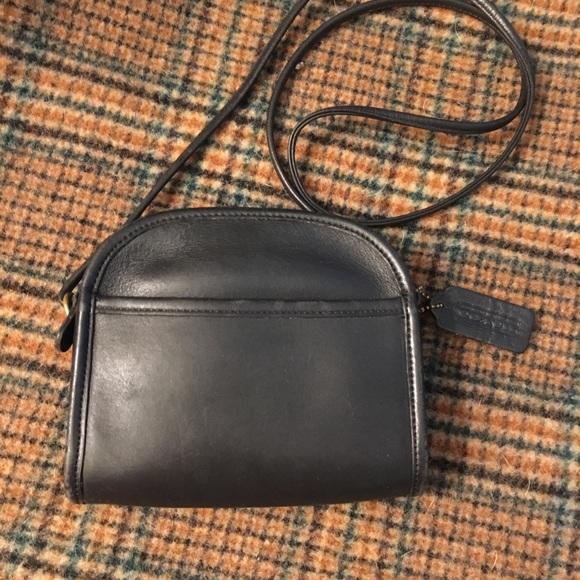 0a1a53b8c Coach Handbags - Coach Vintage Black Abbie Crossbody #9017